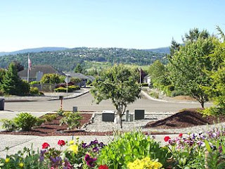 Sequim  Vacation Rental, 1Bd/1Ba Apartment with fully equipped kitchen, garden  outdoor sitting and beautiful views
