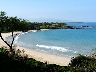 Mauna Kea Beach in April