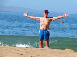 Keoki on our Maui condo vacation in Kihei