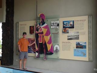 Keoki and King Kamehameha