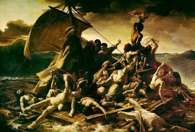 the wreck of the medusa painting
