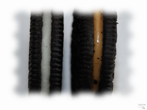 Regular Oreos and Peanut Butter Oreos