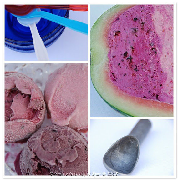 Saskatoon Raspberry Blueberry Sour Cream Ice Cream