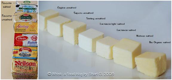 Butter taste test
