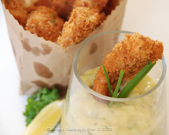 Merlans Colbert (Deep-fried Whiting with Tartar Sauce)