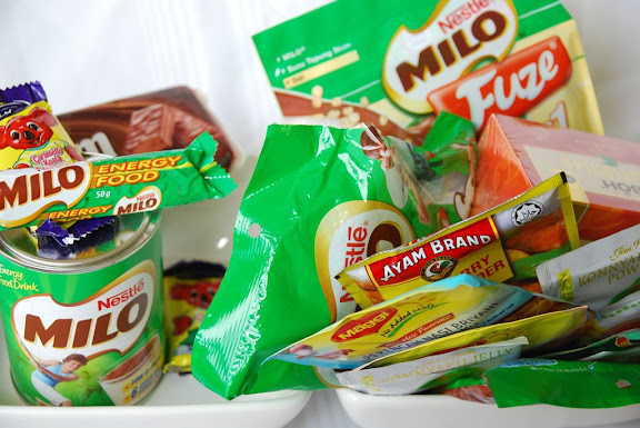 Milo Treats from Australia and Malaysia