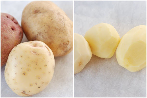 Yukon Gold, White, Red Potatoes
