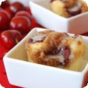 Streusel Coffee Cake with Cherries