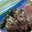 Lavender and Rosemary Pork Tenderloin