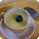 Lemon Cup Custard