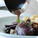 Civet de Lapin à la Française (Rabbit Stew with Red Wine)