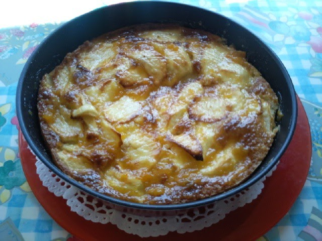 Cocinando con katia tarta de manzana asturiana for Cocinando 1000 huevos