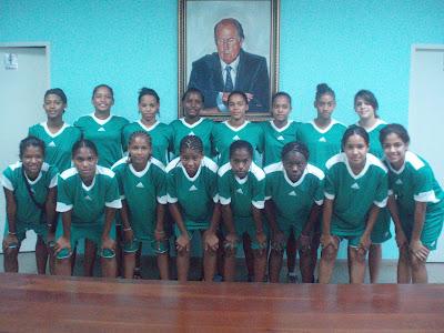 Selección Nacional sub.-17 Fútbol Femenino  a Eliminatorias Mundiales FIFA