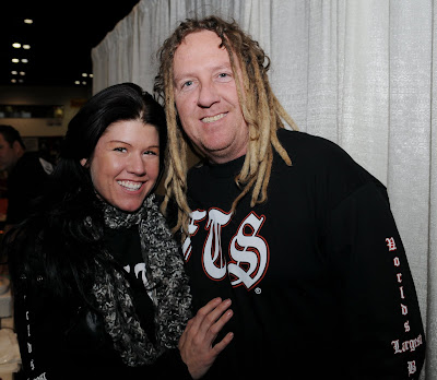 mike ballard of the full throttle saloon and angie of angieland