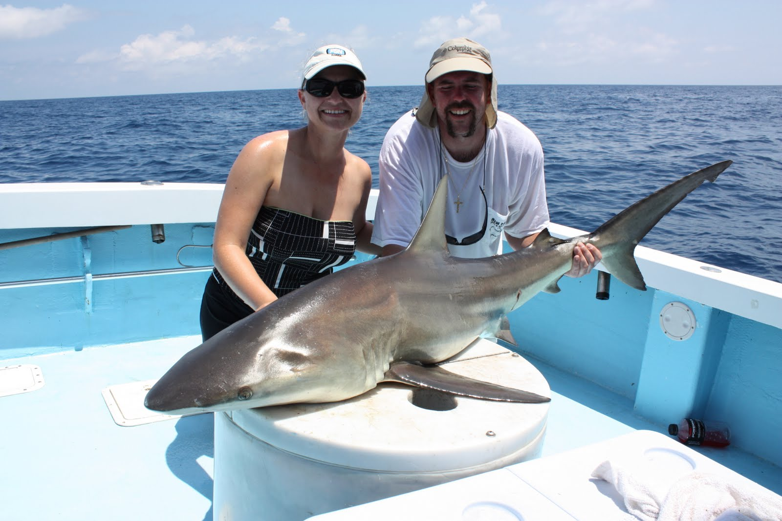 Show me the fish charters go deep to beat the summer heat for Deep sea fishing anna maria island