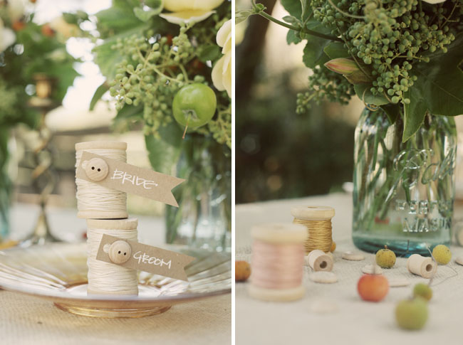 rustic vintage wedding