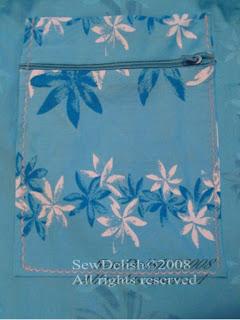 Make Beach tote bag Zippered Pocket