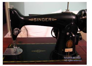 Clean Restore Singer 201K Sewing machine