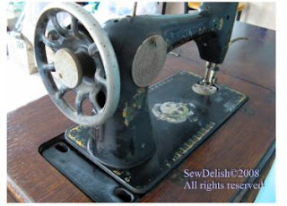 Antique Singer 66-1 Treadle Back Handwheel
