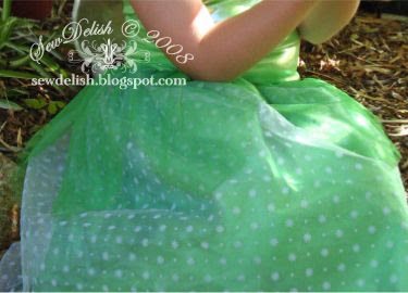 Tinkerbell fairy costume tinker bell Tink disney sew make skirt