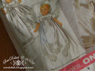 Sew Christening Gown Pattern