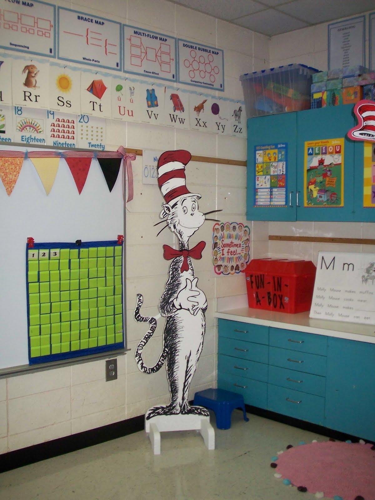 Classroom Decorations Dr Seuss ~ Kindergarten rocks classroom
