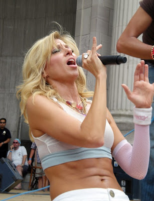 You gotta hand it to Debbie Gibson, girl is in damn good shape!