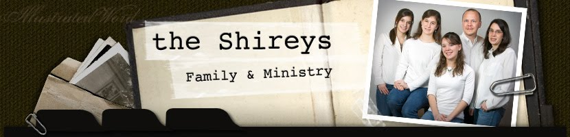 Shirey Family Blog