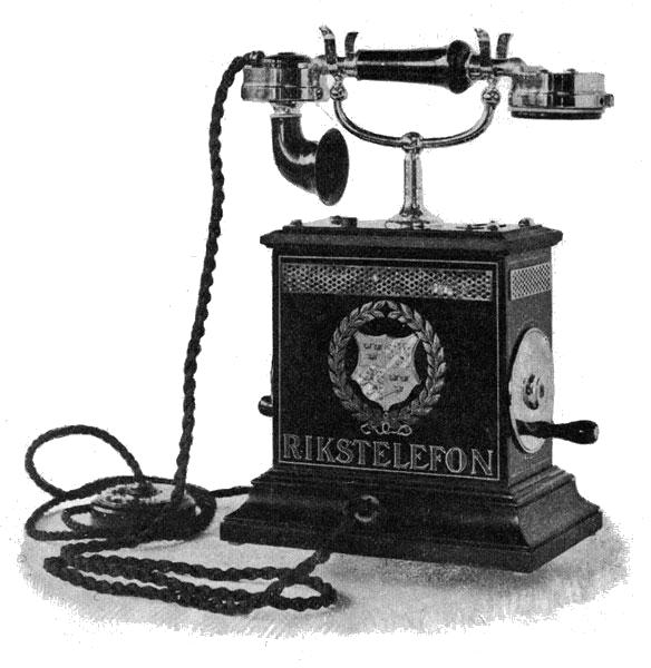 fashioned telephone