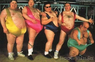 old fat dudes in spandex
