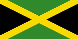 Jamaican Flag Black, Gold and Green