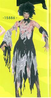 disfraz de mujer horror