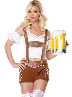 Disfraz de alemana sexy