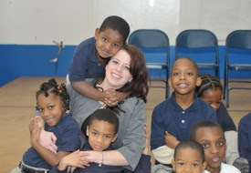 D.C. Public School Teacher and Children