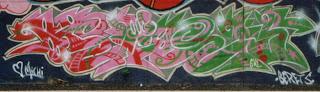 berets graffiti