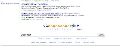interfaccia risultati ricerca