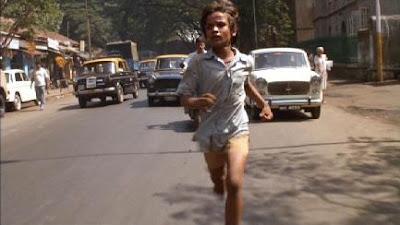 Krishna Bombay sokaklarında