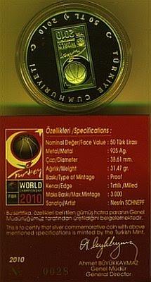FIBA 2010 H.P. sertifikası - 2 + Tura yüzü