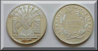 Öğretmenler Günü Gümüş Hatıra Parası