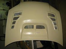 ARS PRODUCT SUBARU V8  BONNET 3