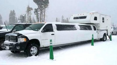 The Truck Limo Camper...for Those Who Want It All.