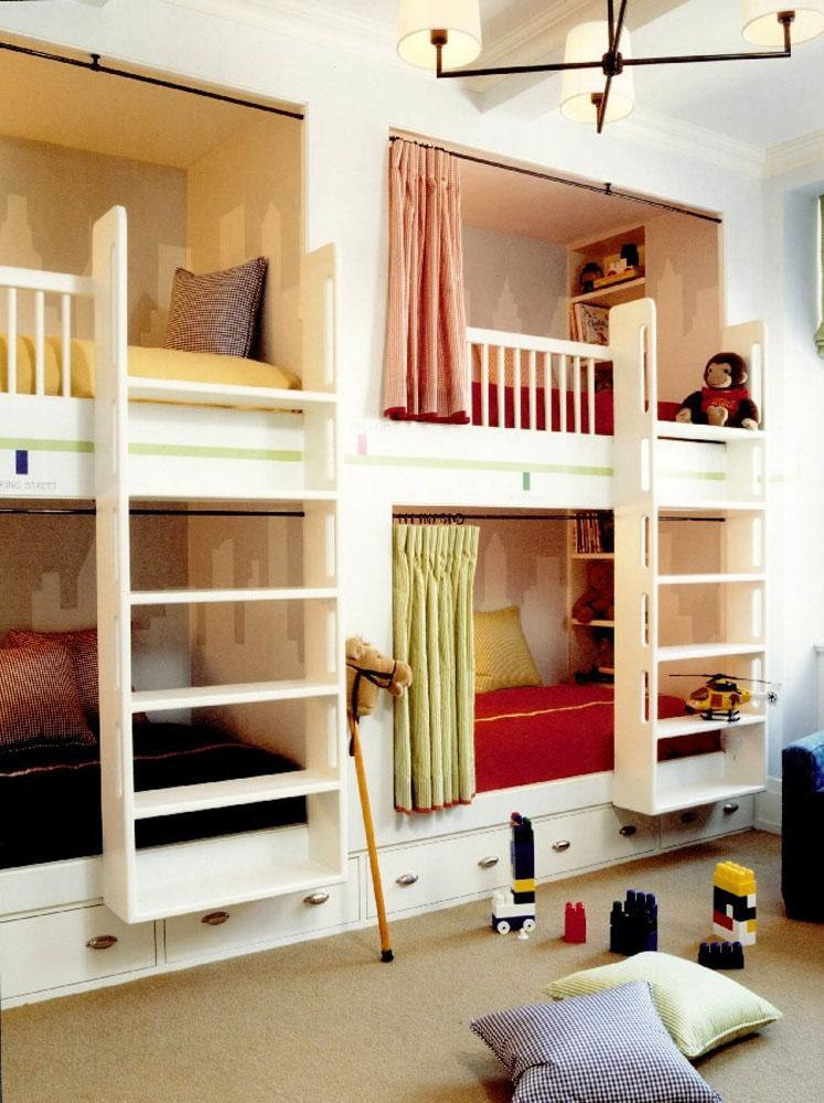 Built In Bunk Beds With Dresser