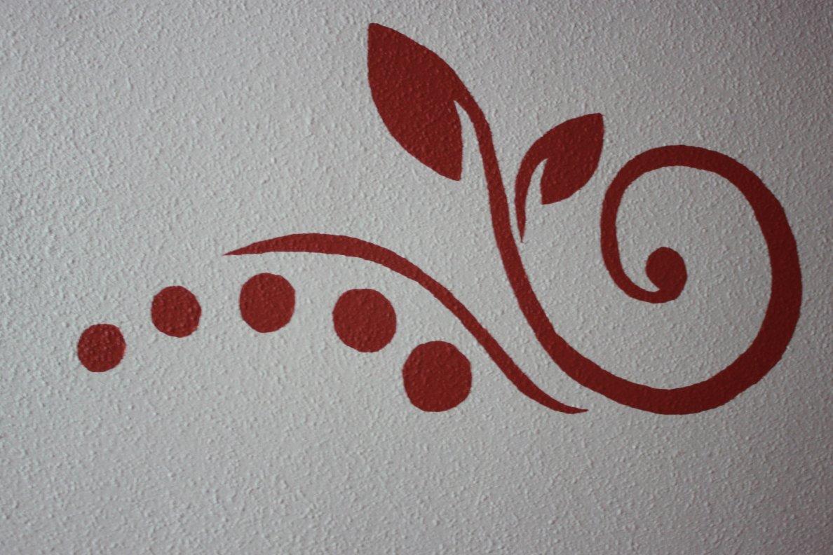 Un paseo por mis cosas plantilla para pared - Plantillas cenefas para pintar ...