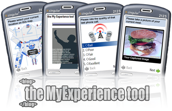 the MyExperience blog