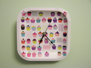 Paper Plate Clock