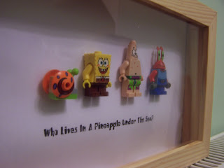 SpongebobLefoMiniFigurePhotoPictureFrame