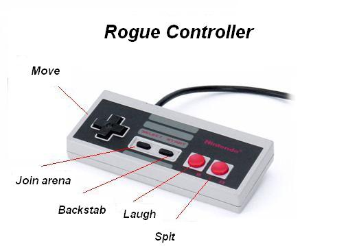 world of warcraft rogue controller