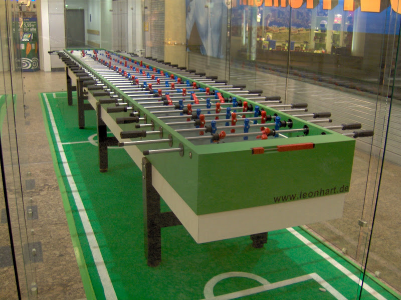 Foosball table for real men - 11 players foosball table