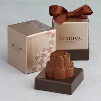 Godiva Chocolate Wedding Cake Candy