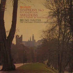 ブラームス交響曲3番のジャケット